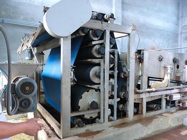 简单介绍洗砂污泥脱水机所具备的特点